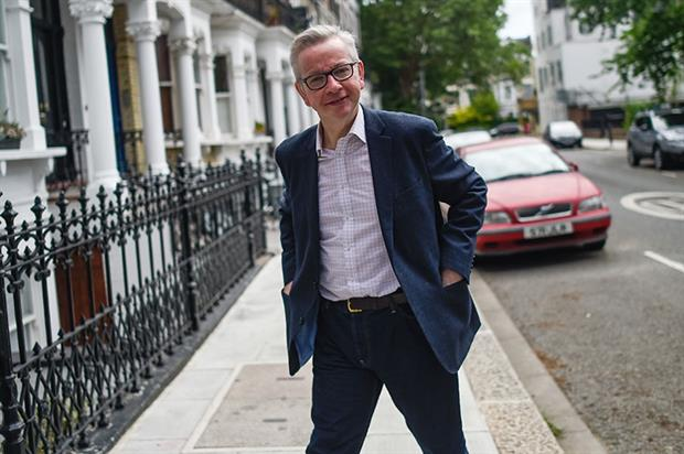 Gove is one of 11 Tory hopefuls with their eyes on Number 10. Photograph: Peter Summers/Getty Images