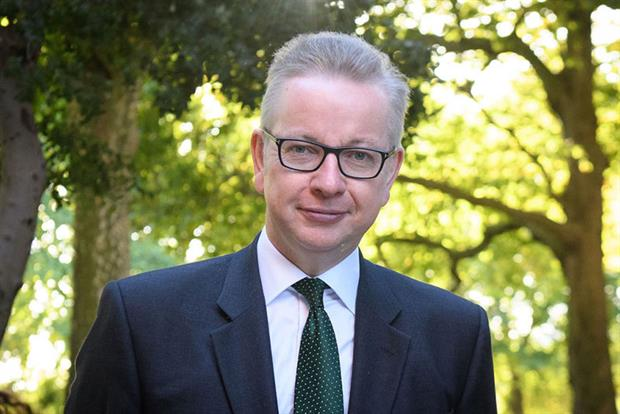 """The interim green watchdog will be """"nobody's patsy"""", said Michael Gove. Photograph: Leon Neal/Getty Images"""