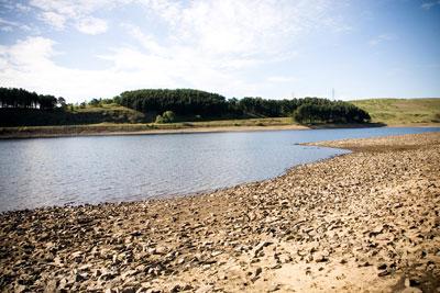 United Utilities' Hurstwood Reservoir, near Burnley, Lancashire (Credit: Environment Agency)
