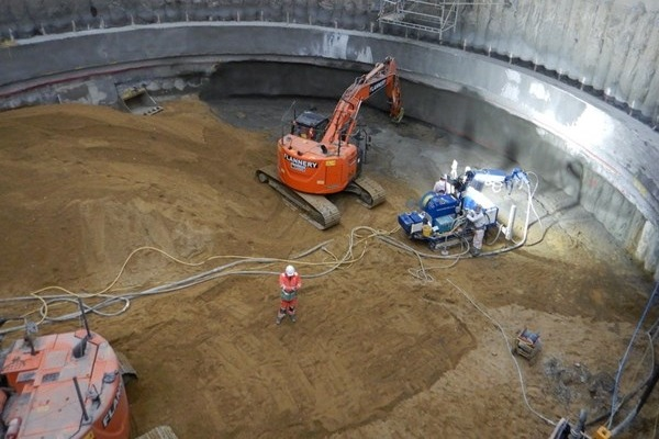 Kirtling Street excavation