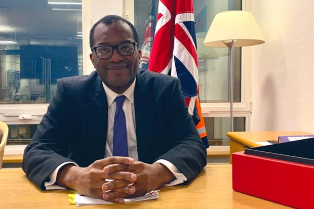 "Kwasi Kwarteng said last year that he had been converted from being a ""radical free-marketeer"" by being appointed as energy minister.  Photograph: Department for Business, Energy and Industrial Strategy"