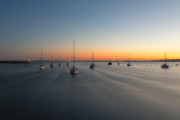 Budds Farm Wastewater Treatment Works has a consented treated-wastewater pipe flowing into Langstone Harbour. Photograph: Greggors/Getty Images