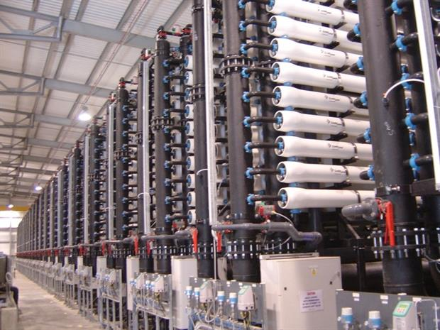 Reverse osmosis membranes at Gateway water treatment works