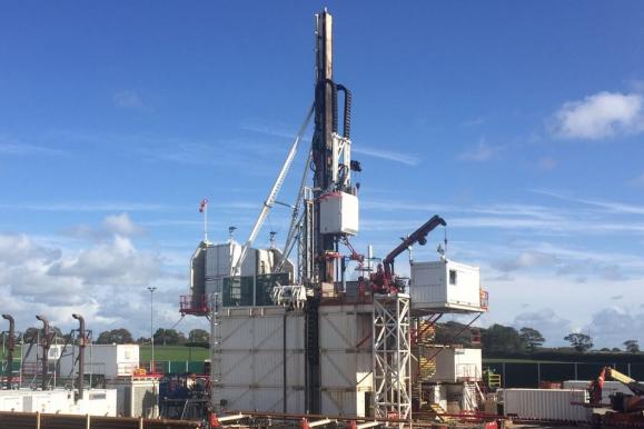 Preston New Road drill rig