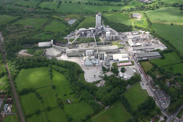 Hanson's Padeswood cement plant is set to be connected to a CO2 pipeline. Photograph: HyNet