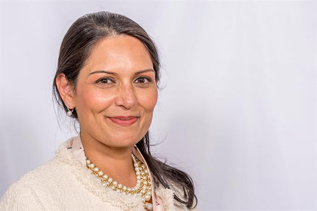 Home secretary Priti Patel has attacked an Environment Agency opinion on an environmental permit. Photograph: Jay Allen/Crown Copyright