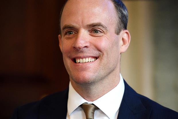 Raab remains in the running to be PM. Photograph: Leon Neal/Getty Images