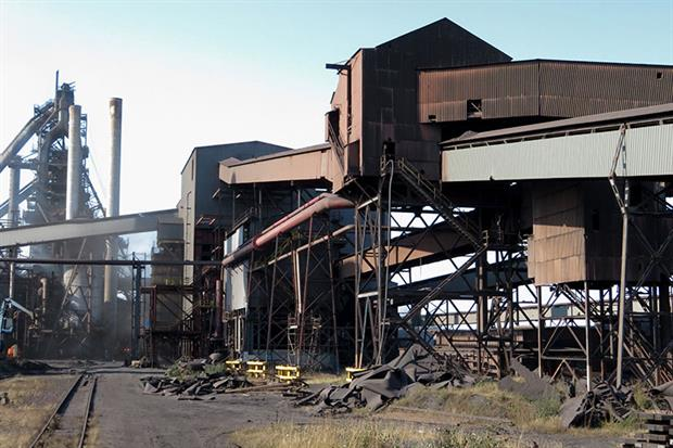 Scunthorpe steelworks. Photograph: Gareth James/Geograph