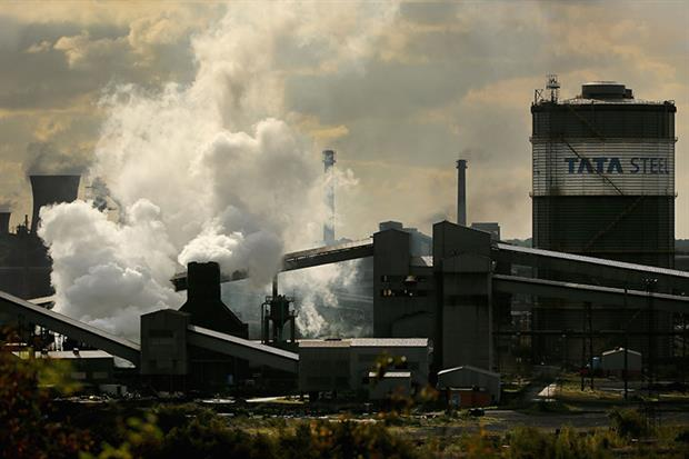 Scunthorpe steelworks. Photograph: Christopher Furlong/Getty Images