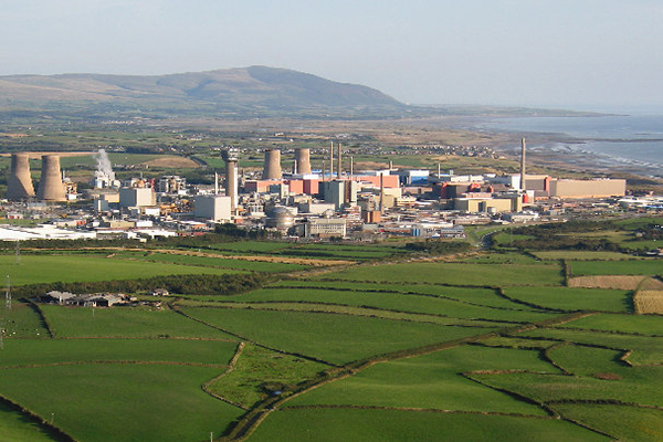 Sellafield nuclear reprocessing plant, Cumbria