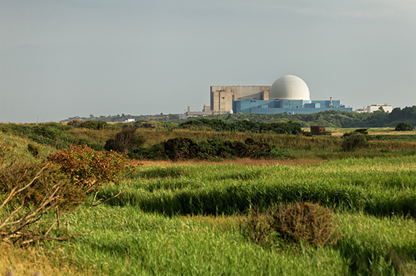 Sizewell A and B nuclear plants