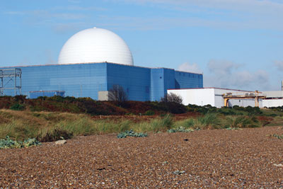 Sizewell B nuclear power plant (source: Wikimedia Commons)