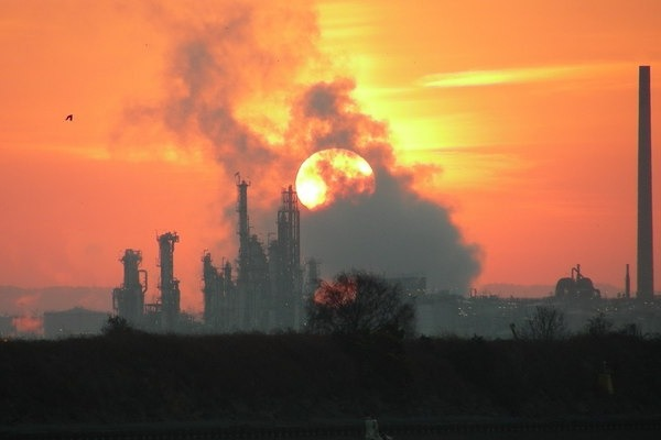 Stanlow Oil Refinery