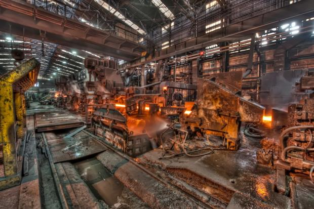 """""""We must pursue coordinated emissions reductions in hard-to-abate sectors"""", such as steel production, """"as soon as possible"""", says the G7 paper. Photograph: Mia Battaglia/Flickr"""