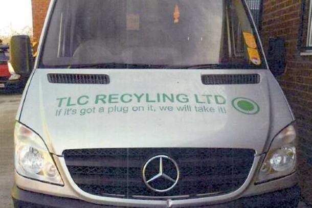 TLC Recycling Ltd vehicle