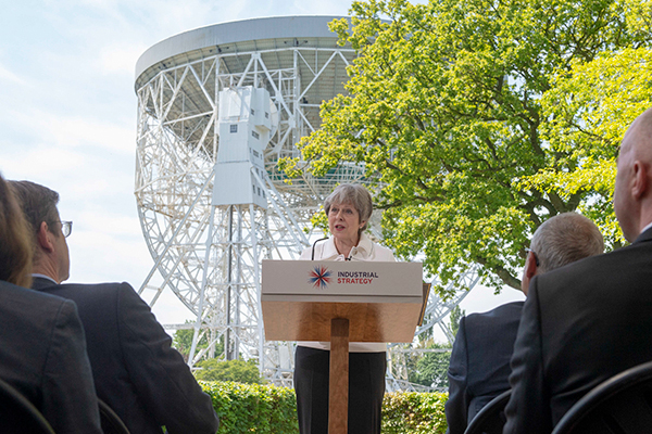 Theresa May launches the draft Clean Air Strategy