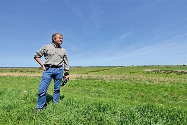 Tony Juniper: setting his sights on reinvigorating the conservation agenda. Photograph: Leo Wilkinson