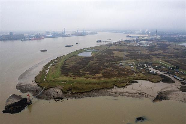 Some 4,781 historic landfill sites across England lie within flood zone 3. Photograph: Getty Images/Dan Kitwood