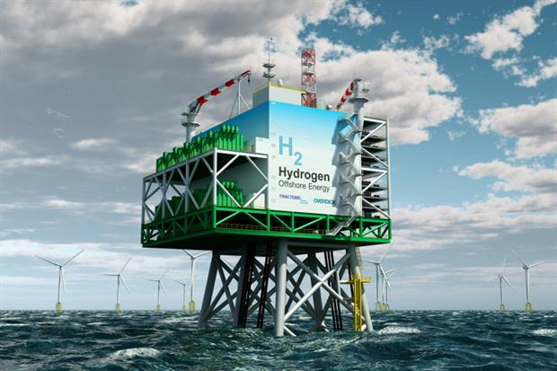 Tractebel Overdick, a branch of Engie, has plans to produce green hydrogen at sea. Image: Tractebel/Engie