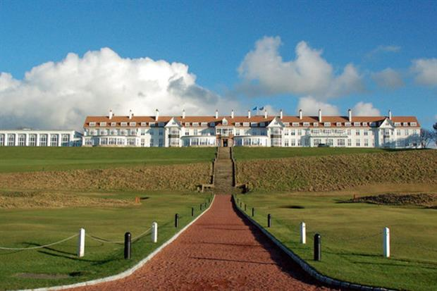 Trump's Turnberry golf course abstracted too much water, says SEPA. Phtograph: Angus Hogg / Geograph