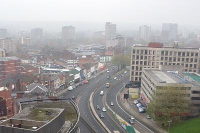 Smog over Birmingham