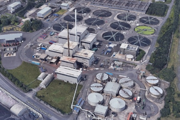 Veolia Water's sewage sludge incinerators in Belfast