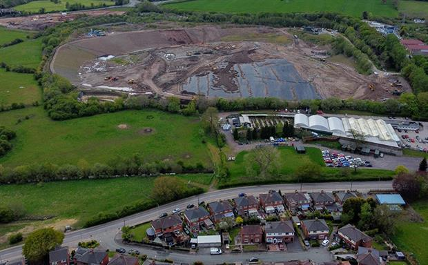 The EA said it had instructed Walley's Quarry Ltd to invest in a number of 'complex and costly engineering solutions'. Photograph: Stop the Stink