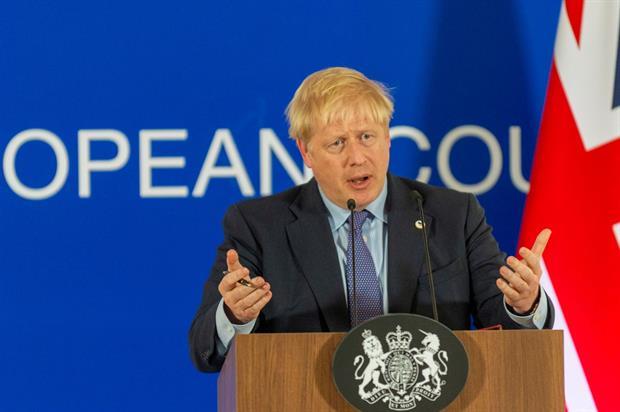 Boris Johnson at October's European Council (Image: European Union)