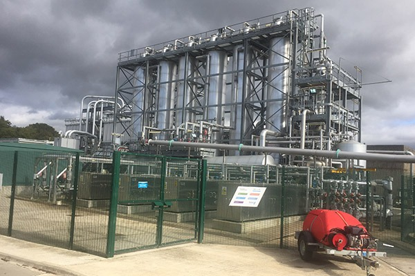 Yorkshire Water energy from sludge plant