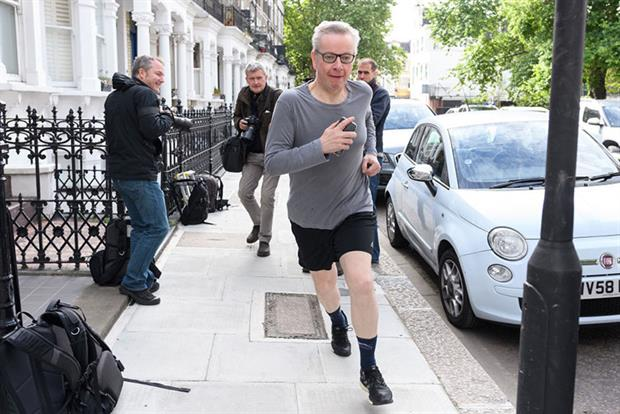 Environment secretary Michael Gove has entered the Conservative leadership race. But can he make it to the finish line? Photograph: Leon Neal/Getty Images