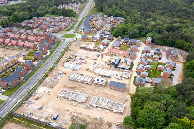 Housebuilding: changes aim to boost development after the Covid-19 pandemic (Photo by Chris Gorman/Getty Images)