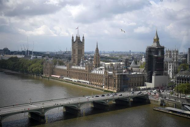 Parliament: Environment Bill is being debated in the House of Lords (Photo by DANIEL LEAL-OLIVAS/AFP via Getty Images)