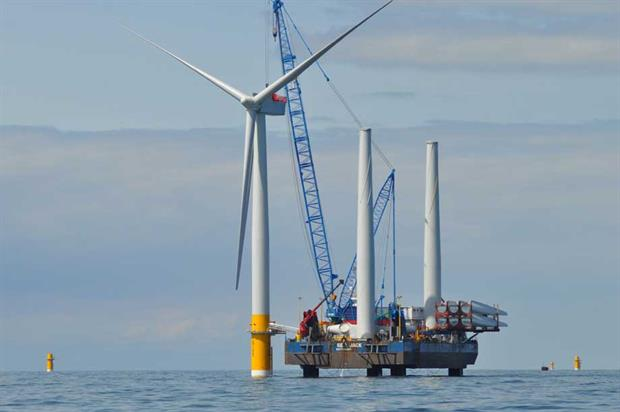 Offshore wind (pic: BEIS, Flickr, CC BY-ND 2.0)