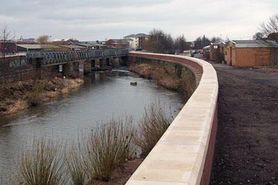 Flood defence scheme