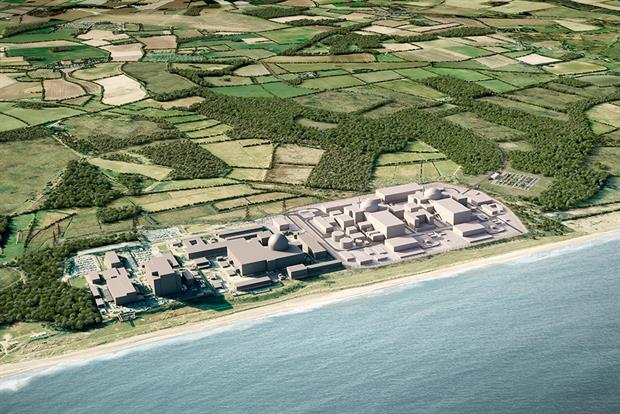 The plans  would see part of Coronation Wood felled so buildings relating to Sizewell B could be moved. Image: EDF