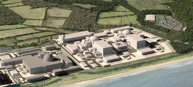 The government is in discussions about funding the Sizewell C nuclear plans. Image: EDF