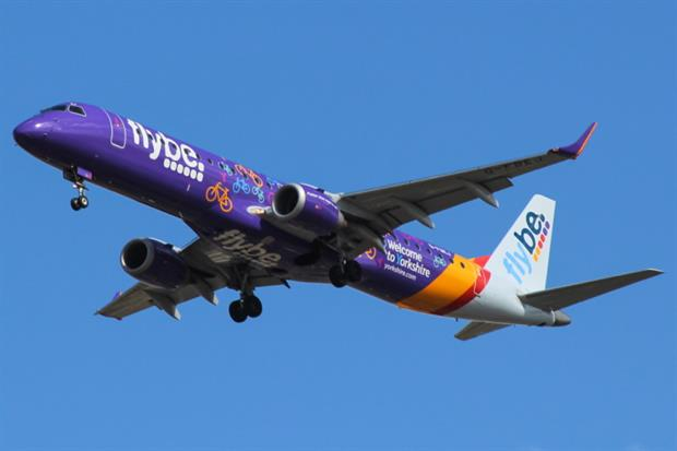 Flybe entered administration in March. Photograph: Mark Harkin/Wikimedia Commons