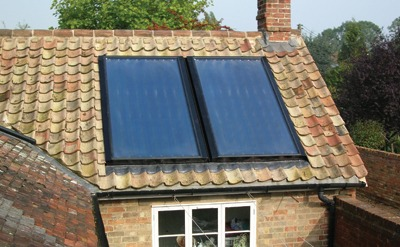 Solar thermal unit, Energise Engineering