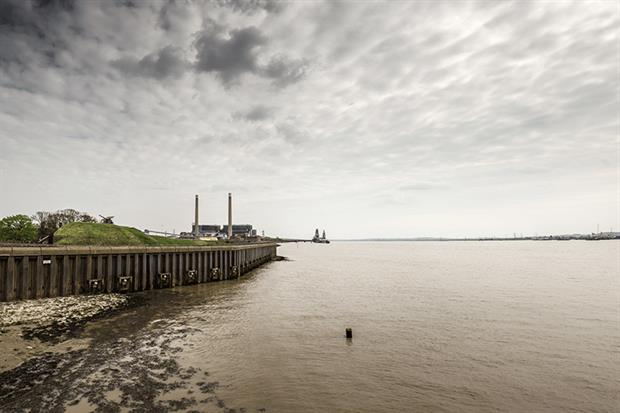 Old Tilbury power station. Photograph: Jason Salmon/123RF