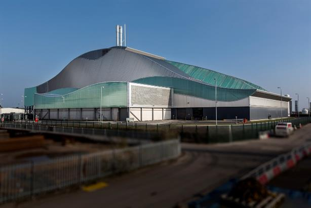 Trident Park energy-from-waste plant