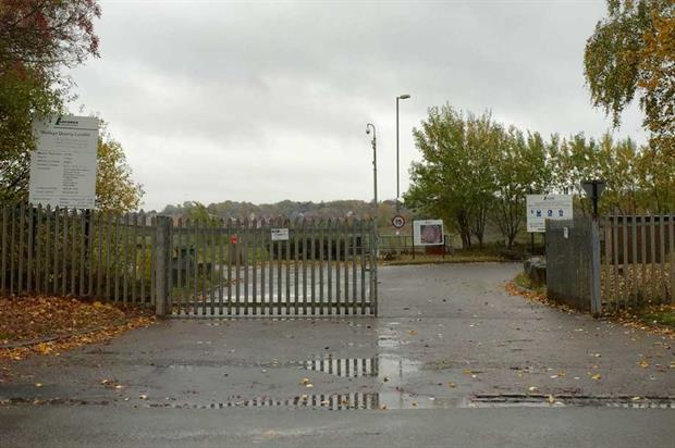 The entrance to the Walleys Quarry landfill site (cc-by-sa/2.0 - © Jonathan Hutchins - geograph.org.uk/p/4713707)