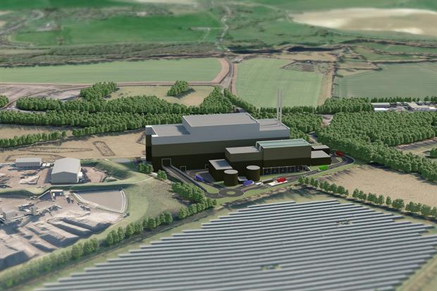 The proposed Wheelabrator Harewood Waste-to-Energy Facility