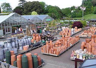 Garden centres stock up