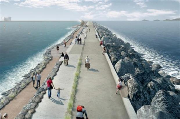 Swansea Bay Tidal Lagoon by LDA Design