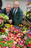 James Leavesley, CEO CrowdControlHQ and Mark Abbot of The Garden Centre Group