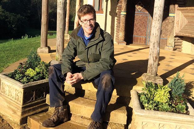 Ben Jones, head gardener, Swiss Garden Shuttleworth Collection - image: The Swiss Garden
