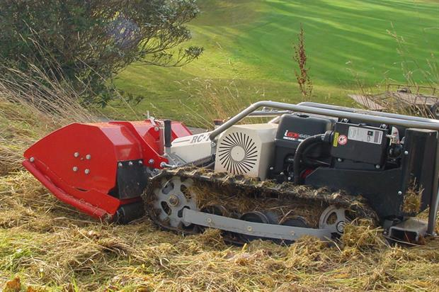 Timan: remote-control mower