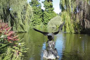 Regent's Park in the summerttime by Lesley Turner won the Royal Parks' first photography competition