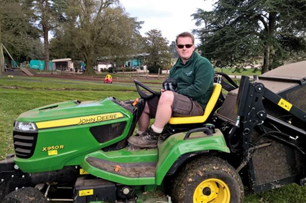 Vance Green, Bursary Scheme Trainee, Trentham Estate - image: Trentham Estate