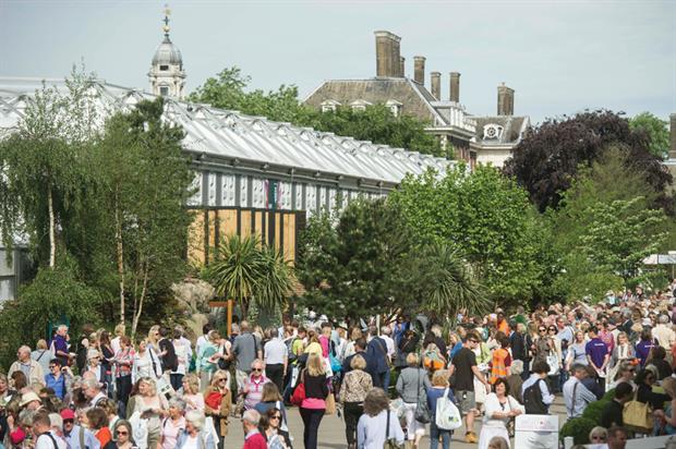 Chelsea Flower Show: outside the Floral Marquee Innovation Project - image: RHS